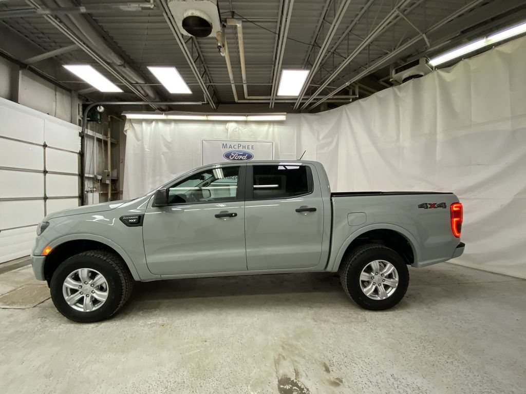 CACTUS GREY 2021 Ford Ranger Left Side Photo in Dartmouth NS