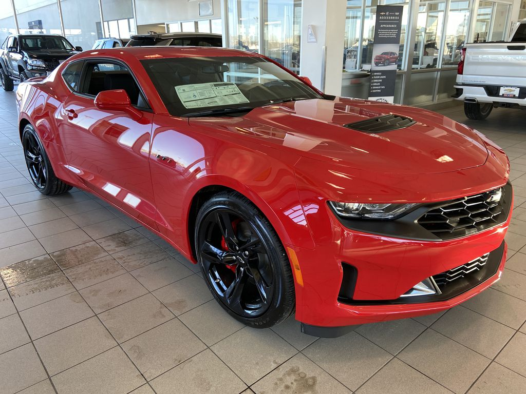 Red[Red Hot] 2021 Chevrolet Camaro 1SS