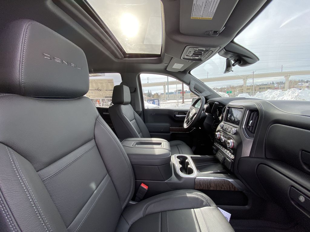 White[White Frost Tricoat] 2021 GMC Sierra 1500 Denali Right Side Front Seat  Photo in Calgary AB
