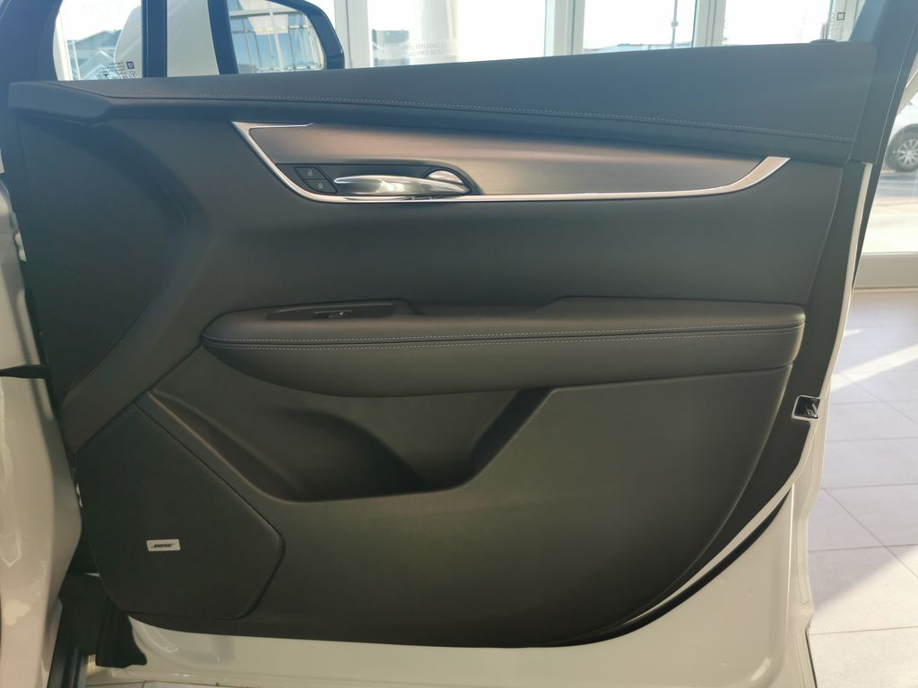White[Crystal White Tricoat] 2021 Cadillac XT6 Right Front Interior Door Panel Photo in Edmonton AB