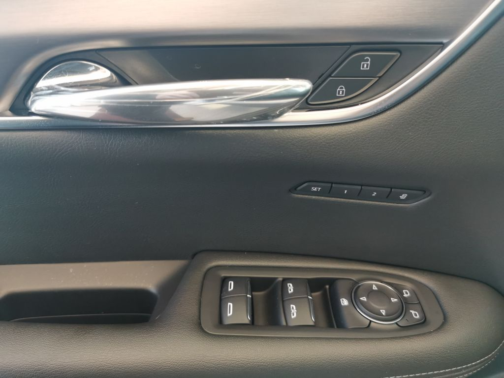 White[Crystal White Tricoat] 2021 Cadillac XT6  Driver's Side Door Controls Photo in Edmonton AB