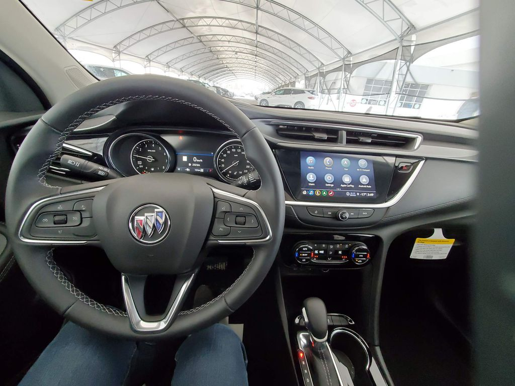 Grey 2021 Buick Encore GX Front Vehicle Photo in Airdrie AB