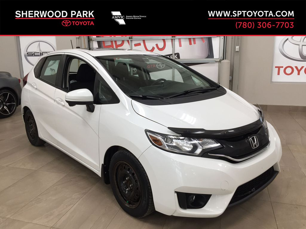 White[White Orchid Pearl] 2015 Honda Fit EX Manual