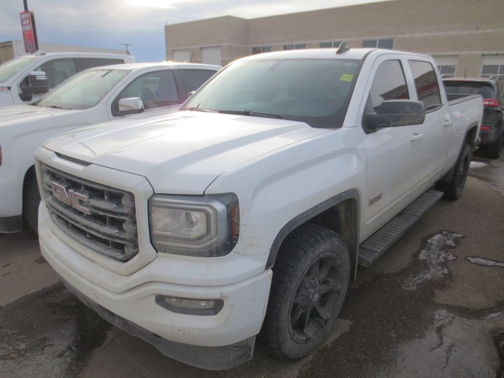 White 2017 GMC Sierra 1500 Left Front Rim and Tire Photo in Lethbridge AB