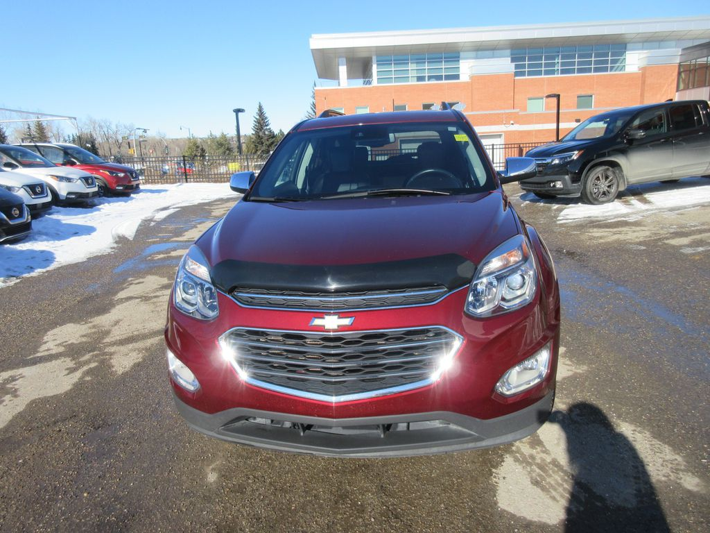 Red[Siren Red Tintcoat] 2017 Chevrolet Equinox Left Side Rear Seat  Photo in Okotoks AB