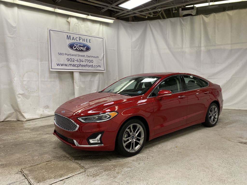 Red[Rapid Red Metallic Tinted Clearcoat] 2020 Ford Fusion Hybrid