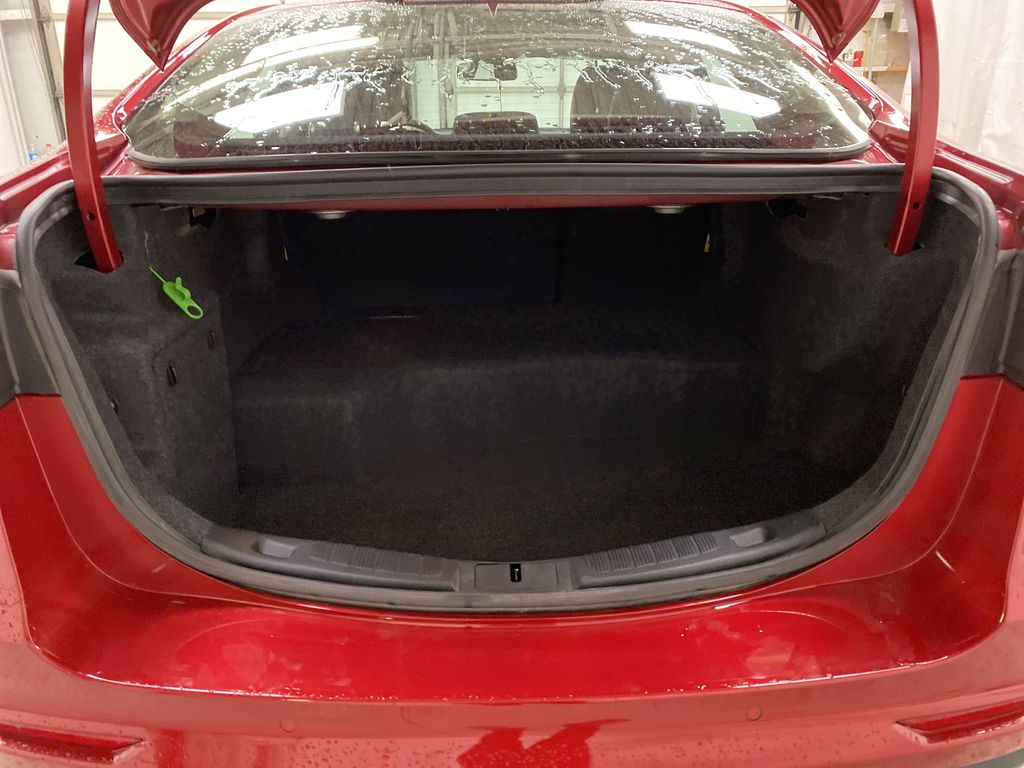 Red[Rapid Red Metallic Tinted Clearcoat] 2020 Ford Fusion Hybrid Trunk / Cargo Area Photo in Dartmouth NS