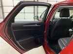 Red[Rapid Red Metallic Tinted Clearcoat] 2020 Ford Fusion Hybrid Left Rear Interior Door Panel Photo in Dartmouth NS
