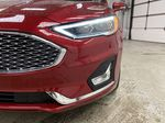 Red[Rapid Red Metallic Tinted Clearcoat] 2020 Ford Fusion Hybrid Left Front Head Light / Bumper and Grill in Dartmouth NS