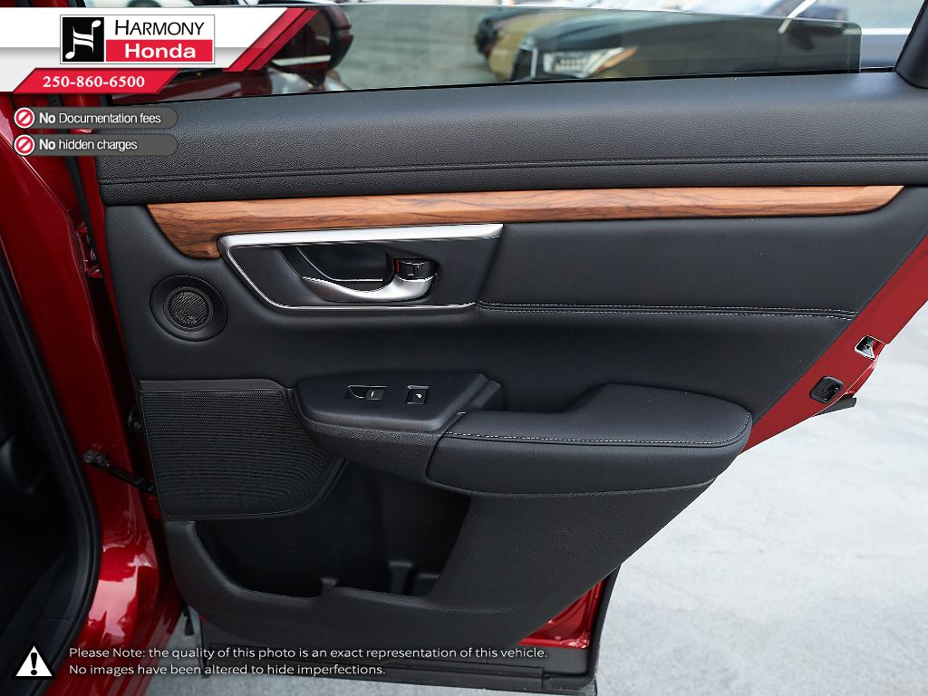 RED R-569M 2021 Honda CR-V Right Side Front Seat  Photo in Kelowna BC