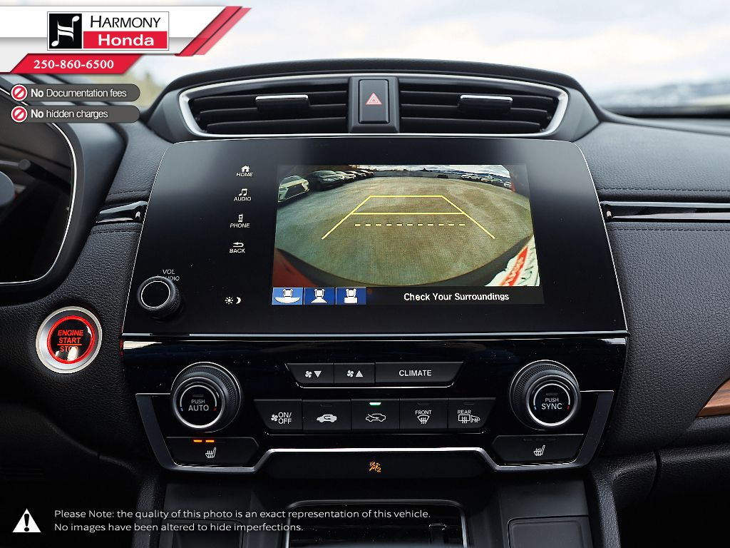 RED R-569M 2021 Honda CR-V Left Driver Controlled Options Photo in Kelowna BC