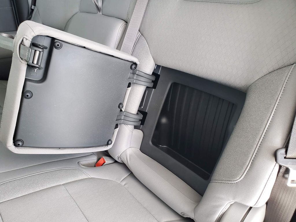 Red 2021 GMC Sierra 1500 Center Console Photo in Airdrie AB