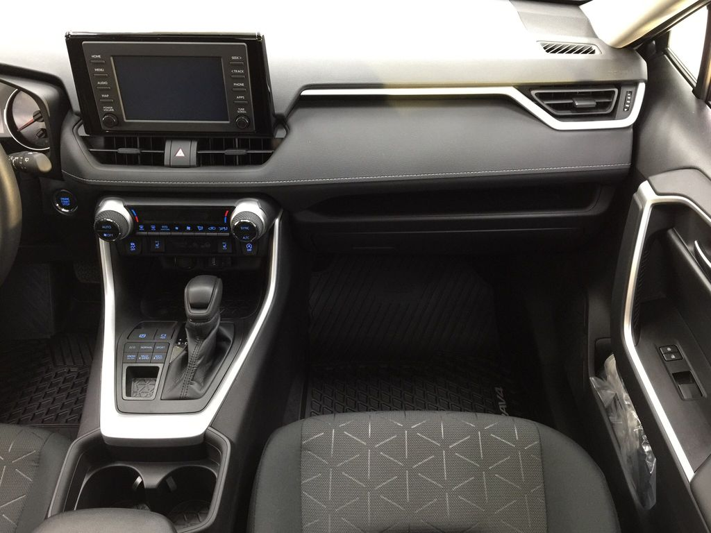 Gray[Magnetic Grey Metallic] 2021 Toyota RAV4 XLE AWD Right Front Seat Photo in Sherwood Park AB