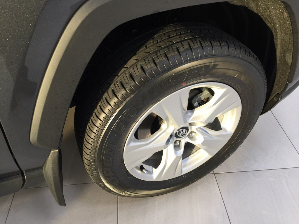 Gray[Magnetic Grey Metallic] 2021 Toyota RAV4 XLE AWD Right Front Rim and Tire Photo in Sherwood Park AB