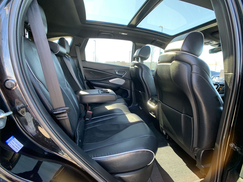 Black[Majestic Black Pearl] 2020 Acura RDX Right Side Front Seat  Photo in Brampton ON