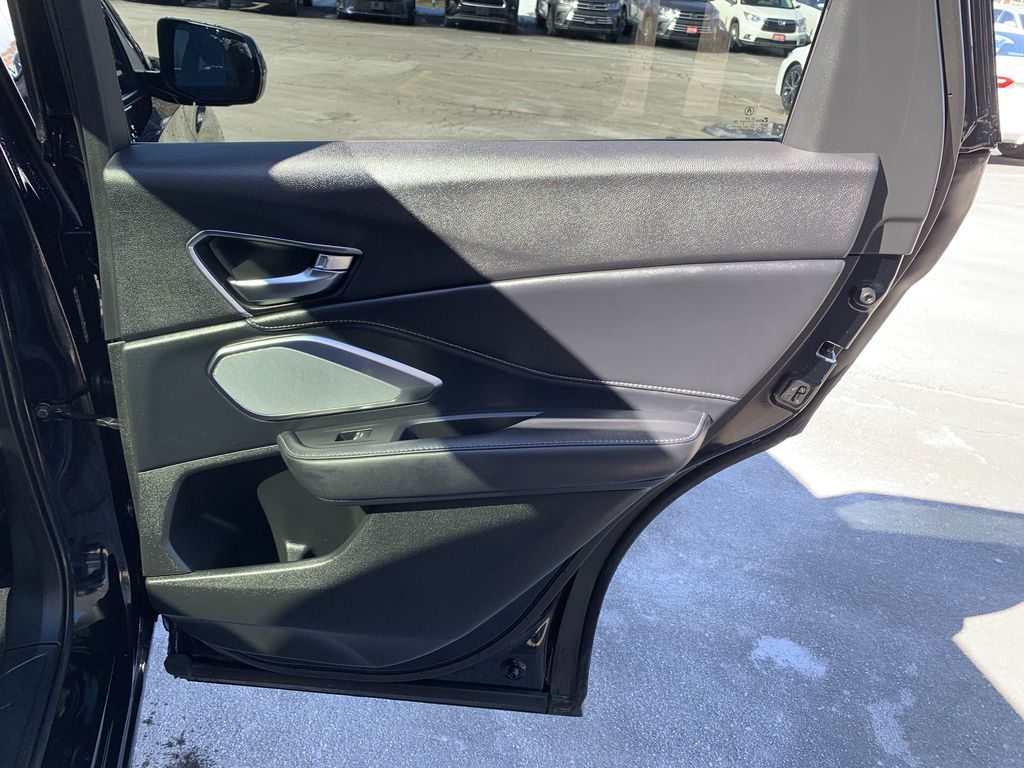 Black[Majestic Black Pearl] 2020 Acura RDX Left Rear Corner Photo in Brampton ON