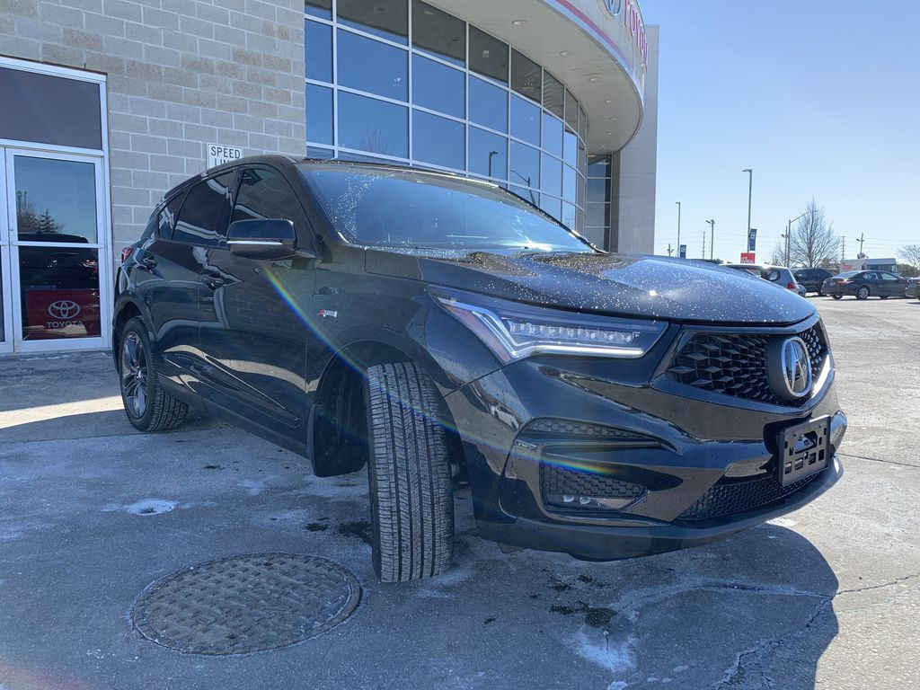 Black[Majestic Black Pearl] 2020 Acura RDX Engine Compartment Photo in Brampton ON
