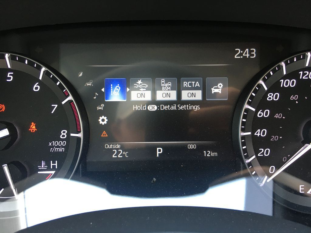 White[Blizzard Pearl] 2021 Toyota Highlander AWD XLE Standard Package GZRBHT AG Left Side Rear Seat  Photo in Brampton ON