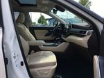 White[Blizzard Pearl] 2021 Toyota Highlander AWD XLE Standard Package GZRBHT AG Right Rear Interior Door Panel Photo in Brampton ON