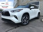 White[Blizzard Pearl] 2021 Toyota Highlander AWD XLE Standard Package GZRBHT AG Primary Listing Photo in Brampton ON