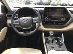 White[Blizzard Pearl] 2021 Toyota Highlander AWD XLE Standard Package GZRBHT AG Center Console Photo in Brampton ON