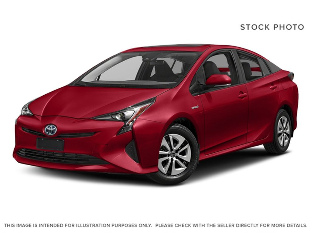 Red[Hypersonic Red] 2018 Toyota Prius
