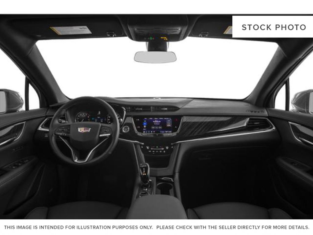 White[Crystal White Tricoat] 2021 Cadillac XT6 Sport Central Dash Options Photo in Calgary AB