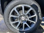 Green[Hunter Metallic] 2021 GMC Canyon Denali Left Front Rim and Tire Photo in Calgary AB