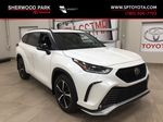 White[Blizzard Pearl] 2021 Toyota Highlander XSE Primary Listing Photo in Sherwood Park AB
