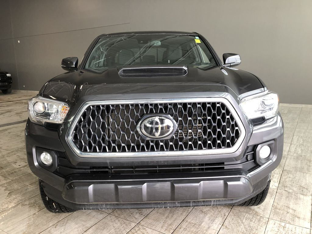 Grey 2019 Toyota Tacoma TRD Sport | Extended Warranty Included Odometer Photo in Edmonton AB