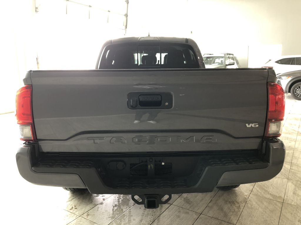 Grey 2019 Toyota Tacoma TRD Sport | Extended Warranty Included Trunk / Cargo Area Photo in Edmonton AB