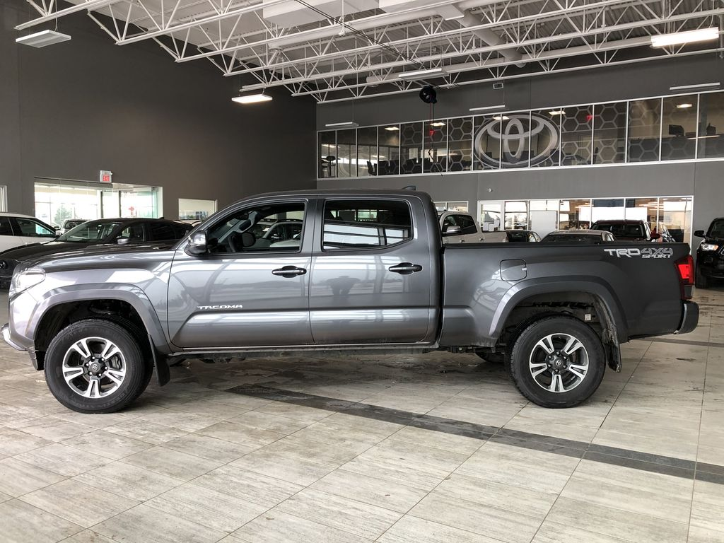 Grey 2019 Toyota Tacoma TRD Sport | Extended Warranty Included Left Side Photo in Edmonton AB