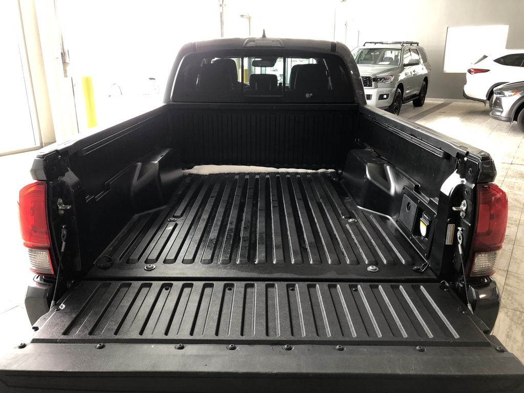 Grey 2019 Toyota Tacoma TRD Sport | Extended Warranty Included Rear of Vehicle Photo in Edmonton AB