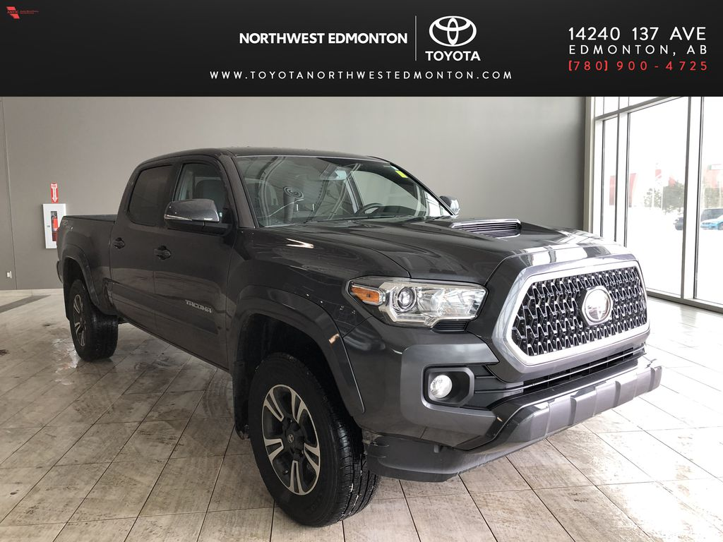 Grey 2019 Toyota Tacoma TRD Sport | Extended Warranty Included