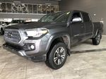 Grey 2019 Toyota Tacoma TRD Sport | Extended Warranty Included Left Side Rear Seat  Photo in Edmonton AB