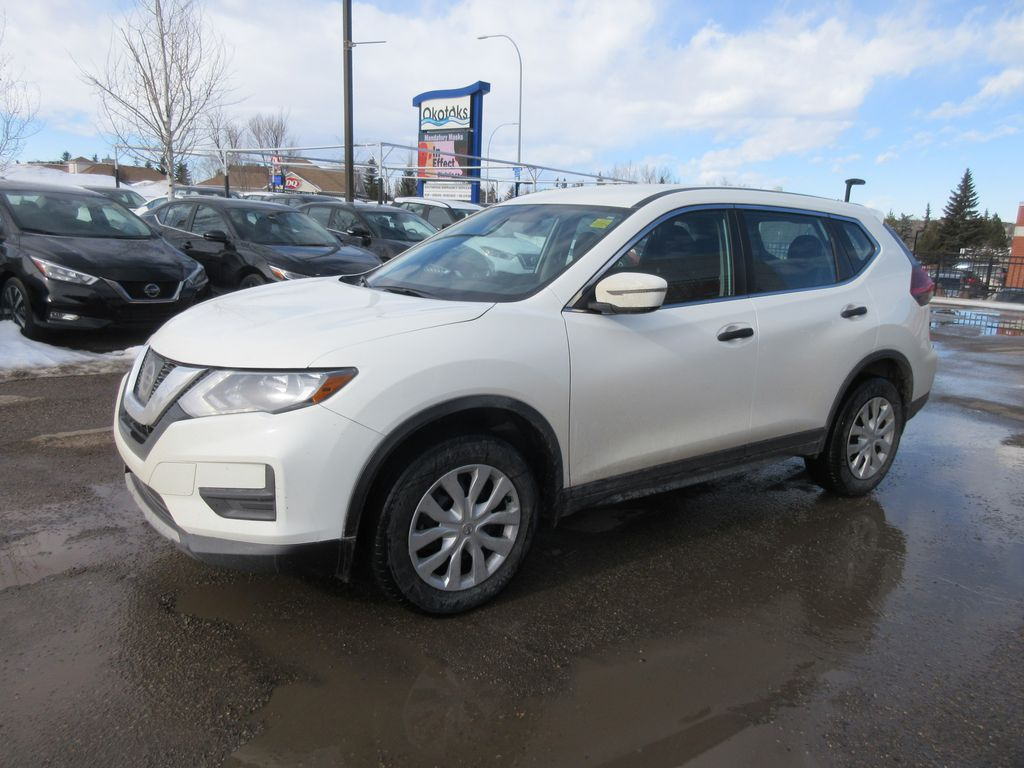 White[Glacier White] 2017 Nissan Rogue Odometer Photo in Okotoks AB