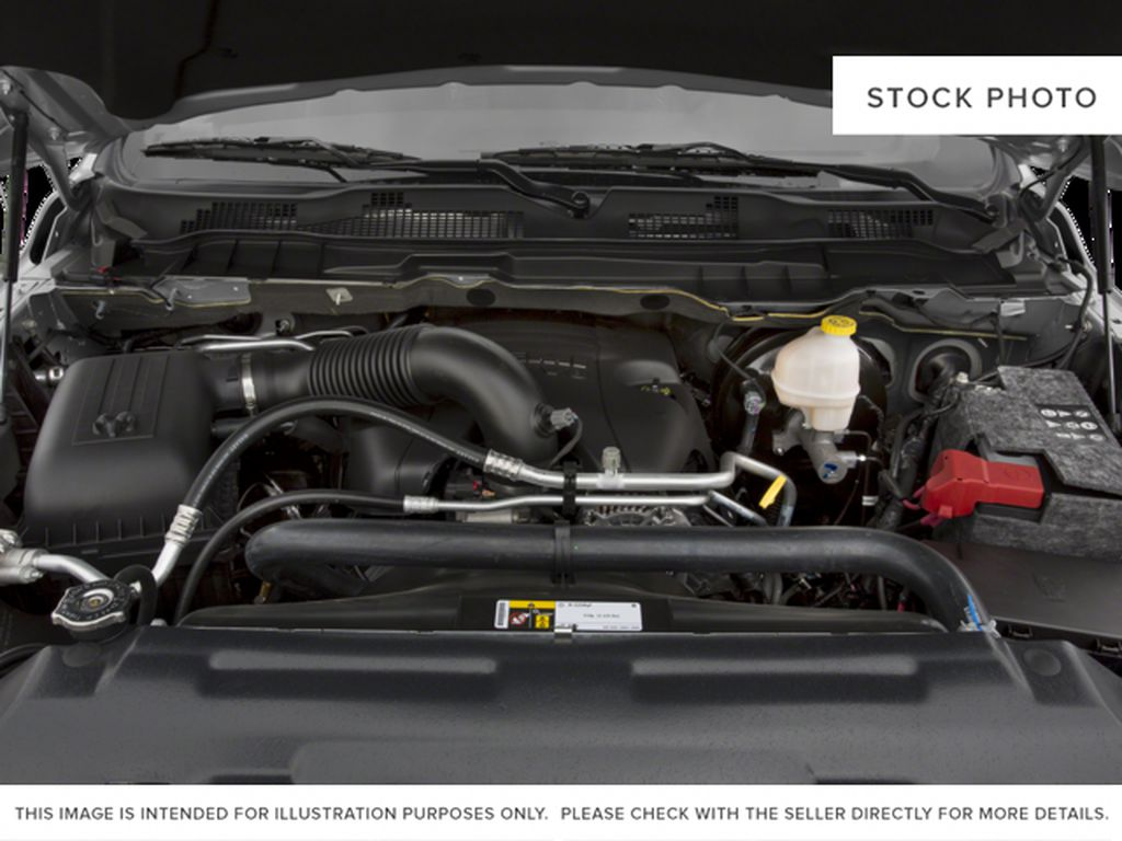 Black[Brilliant Black Crystal Pearl] 2016 Ram 1500 Engine Compartment Photo in Fort Macleod AB