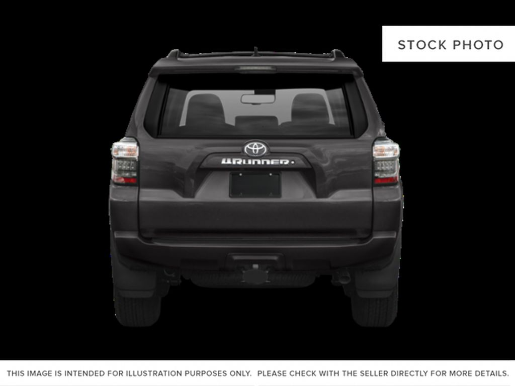 Gray[Magnetic Grey Metallic] 2021 Toyota 4Runner Rear of Vehicle Photo in Beverly Hills NU