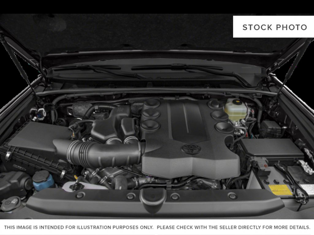 Gray[Magnetic Grey Metallic] 2021 Toyota 4Runner Engine Compartment Photo in Beverly Hills NU