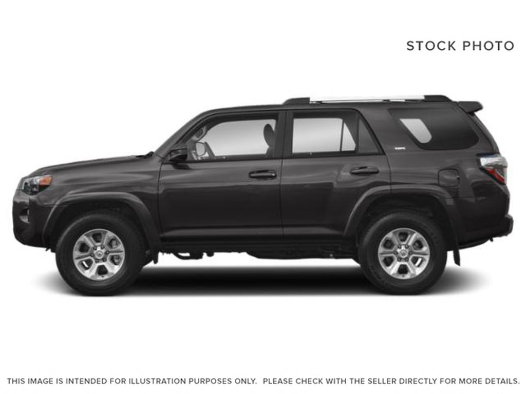 Gray[Magnetic Grey Metallic] 2021 Toyota 4Runner Left Side Photo in Beverly Hills NU