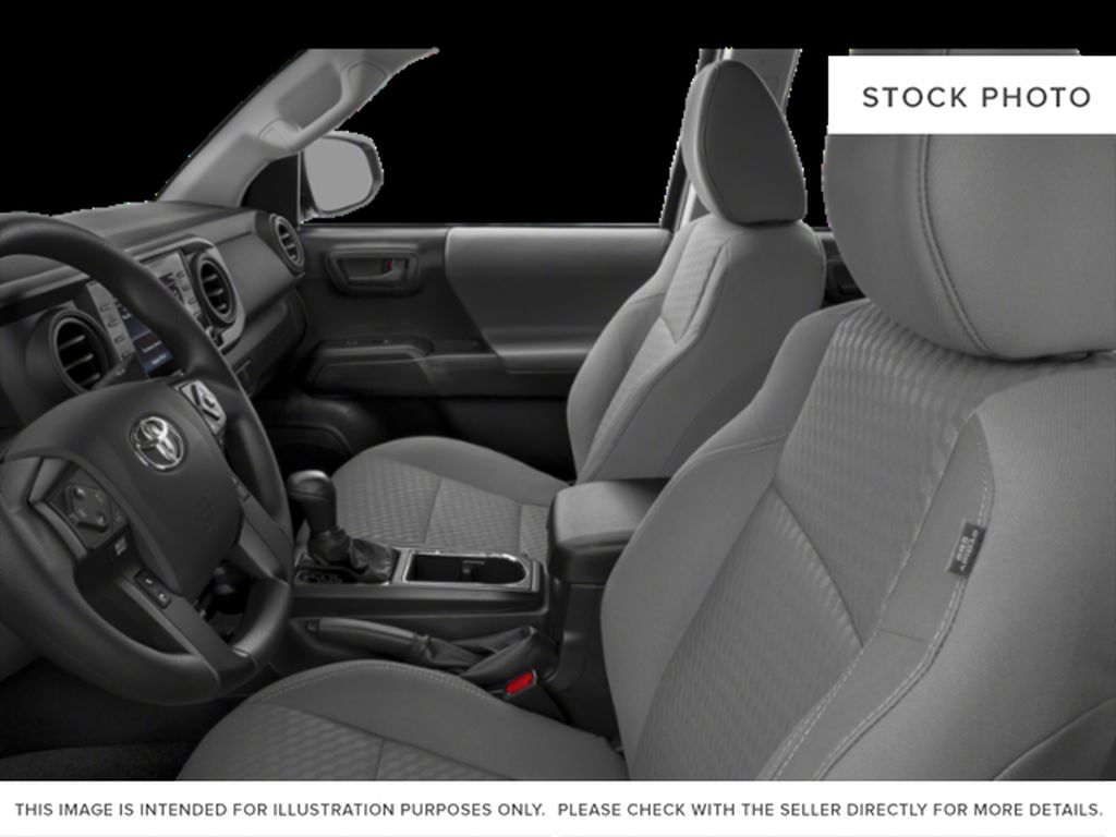 Gray[Cement] 2021 Toyota Tacoma Left Front Interior Photo in Beverly Hills NU