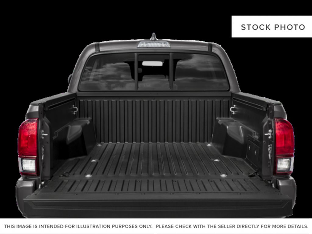 Gray[Cement] 2021 Toyota Tacoma Trunk / Cargo Area Photo in Beverly Hills NU