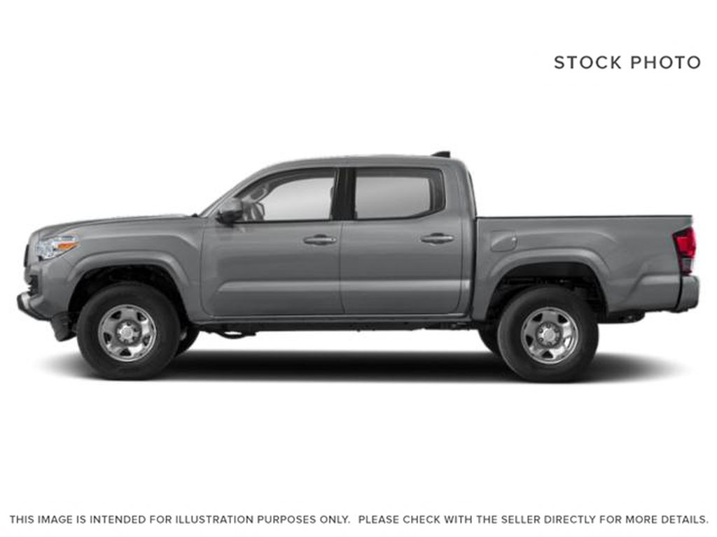 Gray[Cement] 2021 Toyota Tacoma Left Side Photo in Beverly Hills NU