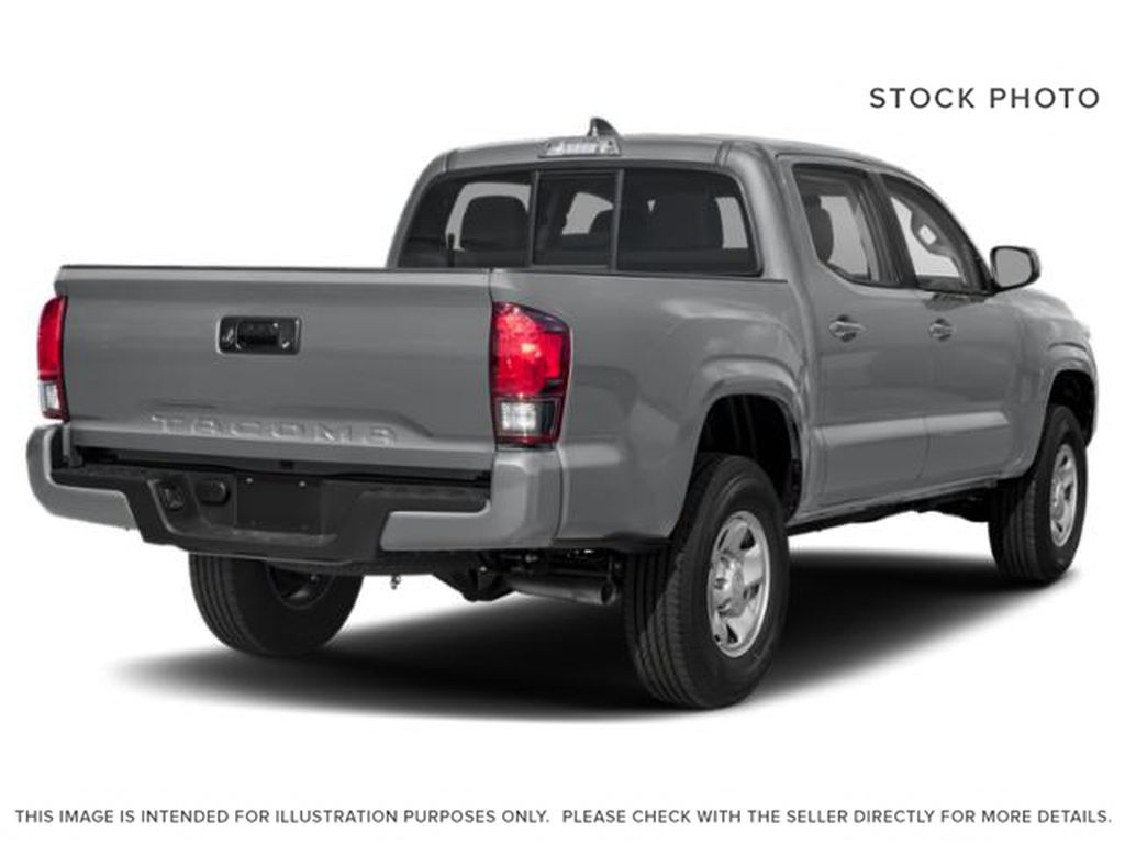 Gray[Cement] 2021 Toyota Tacoma Right Rear Corner Photo in Beverly Hills NU