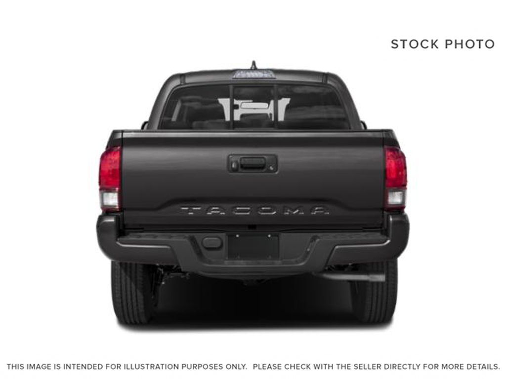 Gray[Cement] 2021 Toyota Tacoma Rear of Vehicle Photo in Beverly Hills NU