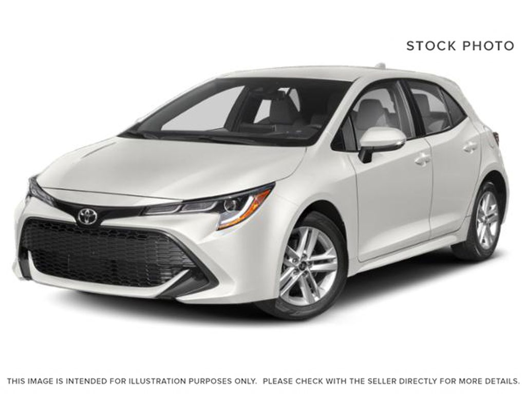 White[Wind Chill Pearl] 2021 Toyota Corolla Hatchback
