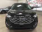 Black[Agate Black] 2019 Ford Edge SEL / LEATHER PANORAMIC SUNROOF Front Vehicle Photo in Sherwood Park AB
