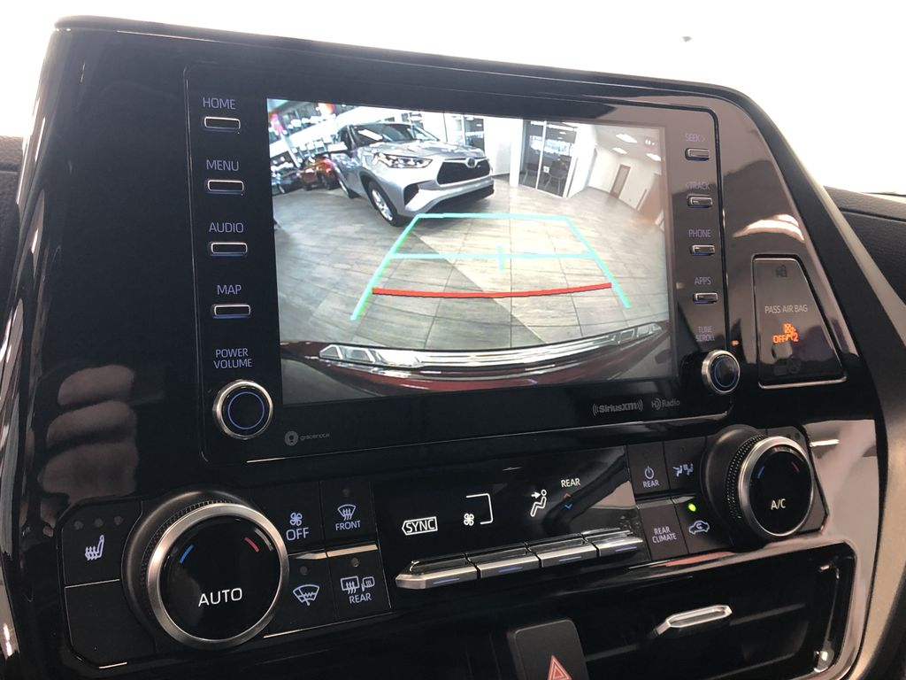 Ruby Flare Pearl 2021 Toyota Highlander XLE Right Side Front Seat  Photo in Edmonton AB