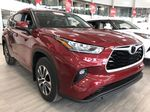 Ruby Flare Pearl 2021 Toyota Highlander XLE Left Front Interior Photo in Edmonton AB