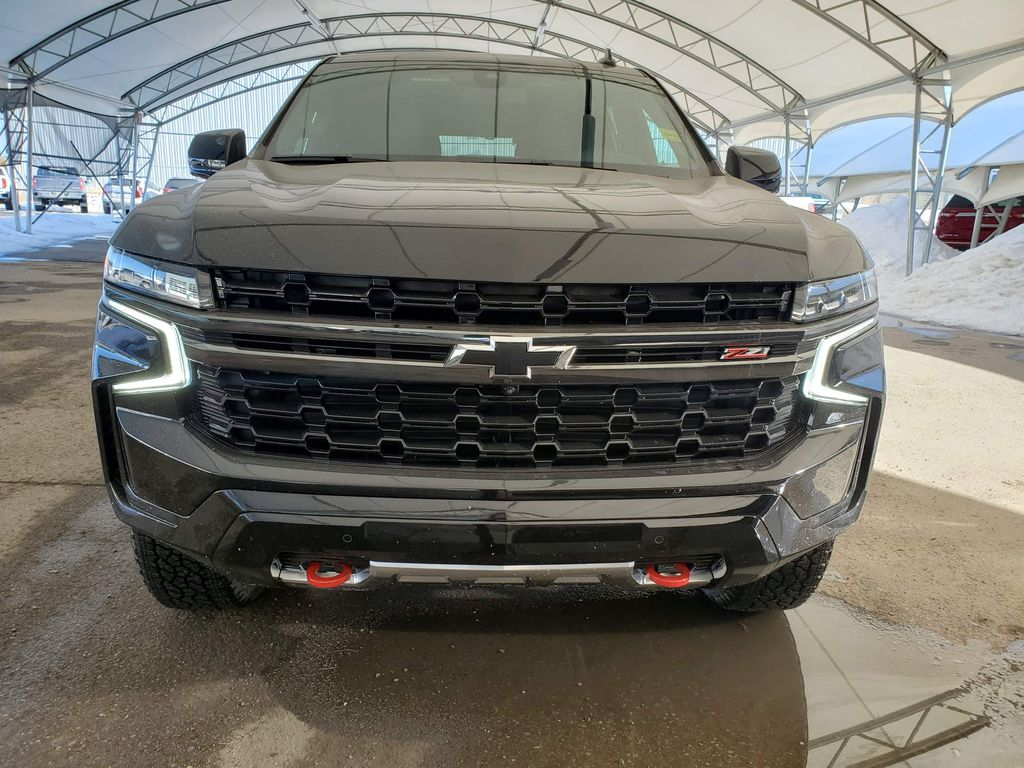 Black 2021 Chevrolet Tahoe Left Front Corner Photo in Airdrie AB